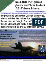 LSO DeckLand AUTO SuperHornet F-35C & X47B Pp274 01jun2015