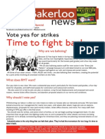 Bakerloo News (June 2015 Strike Ballot Special)