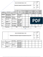 QMSP11 F04 Objectives KPIs and Targets-Summary-1 Monitoring 2014