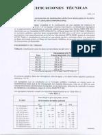 Especificaciones Técnicas De Asfalto e=7.5 cm