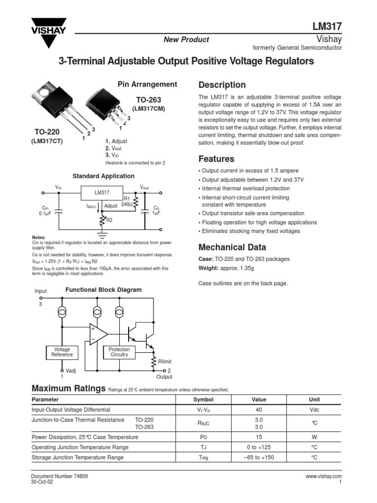 Datasheethk Lm317 521572 Electrical Components Circuits Power Supply Circuit With Variable Output Voltage Of 12 30v