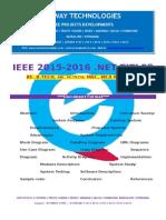2016 Ieee .Net Neural Network Project Titles
