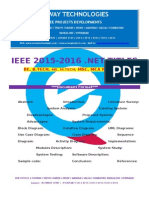 2016 Ieee .Net Software Engineering Project Titles