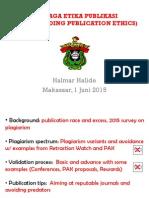 menjaga etika publikasi (safeguarding publication ethics)