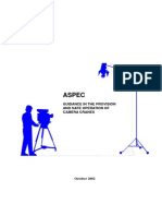 ASPEC Safe Operation of Camera Cranes