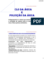 Aula 2 Ciclo Da Agua e Poluicao Da Agua(1)