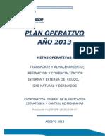 Plan Operativo Anual PETROECUADOR
