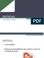 DISTOCIAS