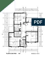 Plano de planta 2 piso