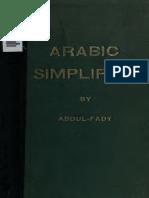 Arabic Simplified