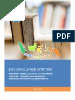 Buku Panduan Kurikulum Dikti Pembelajaran 2014