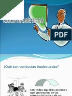 CONDUCTAS INADECUADAS EN EL AULA.ppt