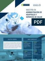 Maestria Administracion Hospitales Servicios Salud