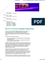 Art of Programming the Assembly Language