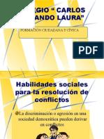 Habilidades Sociales Para Resolucion de Conflictos
