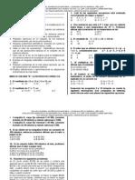 Evaluación Diagnóstica de Matemáticas, Grado 0ctavo. Lic. Esp. Luis Alberto Uribe Martínez