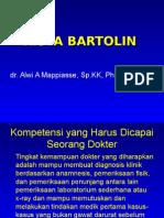 Kista Bartolin-