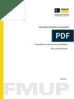 Privacidade no Internamento em Pediatria  tica e Humanizao.pdf
