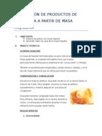 Utilización de La Masa Hojaldrada