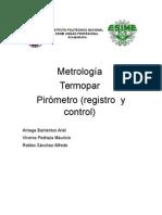 Termopar y Pirometro