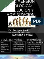 LA DIMENSION BIOLOGICA EVOLUCION Y HOMINIZACION.pptx