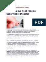10 Coisas Sobre Diabete Glicemia