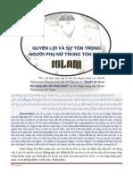 QUYEN LOI VA SU TON TRONG PHU NU TRONG ISLAM.pdf