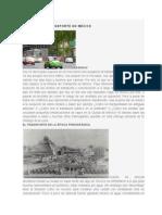 Historia Del Transporte en Mexico