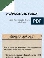 Acáridos Del Suelo
