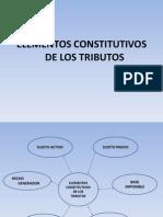 Elementos Constitutivos de Los Tributos