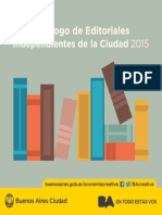 Catalogo Editorial 2015