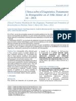 Guia de Practica Clinica Sobre El Diagnostico y Tratamiento de Bronquilitis