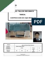 Informe de Caja Metalica tecsup