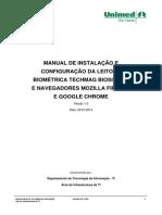 Manual de Instalação Da Leitora Biométrica TechMag