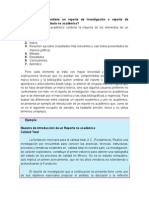 Qué Elementos Contiene Un Reporte de Investigación o Reporte de Resultados en Un Contexto No Académico