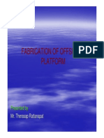 04 Fabrication of Offshore Platform