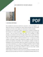 Guia de Corrosion en Concreto Armado, Ensayo, sobre la corrosión en concreto armado, durabilidad del concreto