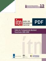 Indice de Transparencia Nacional