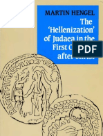 Martin Hengel, The Hellenization of Judaea in the First Century after Christ