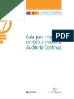 Guia Implementación de Modelo de Auditoria Continua IAI España Octubre 2014