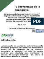 Presentacic3b3n de Termografias
