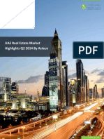 UAE Real Estate Market Highlights Q2 2014 by Asteco