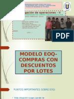 Modelo EOQ Compras Con Descuentos Por Lotes