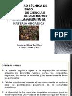 Descomposición de Materia Orgánica