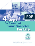 4 Steps to Control Your Diabetes (Diabetes Cure)