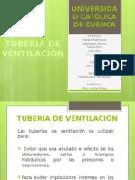 Tubería de Ventilación