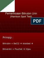Praktikum Pemeriksaan Bilirubin Urin (Harisson)