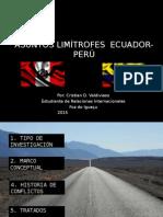 Derecho de Las Fronteras Caso Ecuador-Perú
