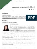 Núbia Oliveira - 67ª Colocada AFRFB