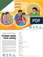 Rotafolio Nutricion - Pma Coma Sano Viva Sano